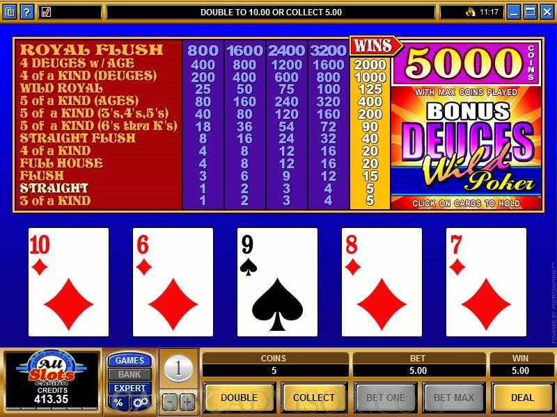 DeucesWild Pokerautomater