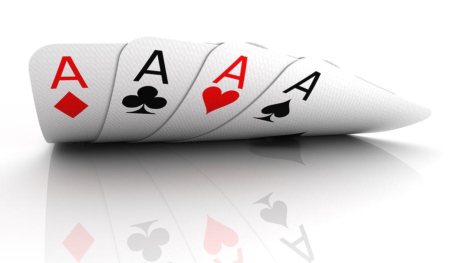 fyra ess reflektion Pokerautomater